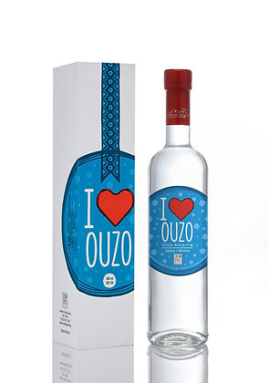 I love Ouzo 38%