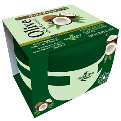 Body butter Coconut HerbOlive 250ml