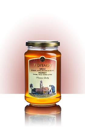 Thyme, wild herbs & pine honey 470g