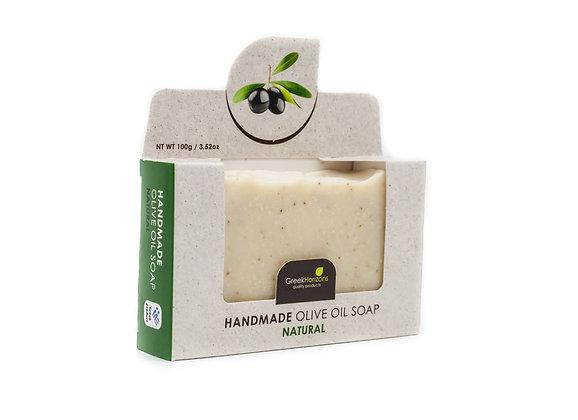 Handmade olive oil soap Natural 100g