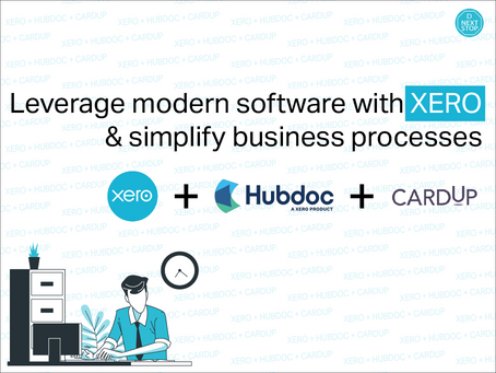 Leverage modern software with XERO & simplify business processes