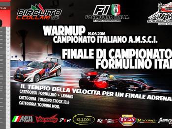 WarmUP C.ITA AMSCI EP Touring - F1