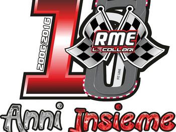 JG Design firma i 10 anni del Circuito Rme