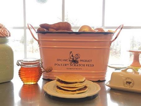 Millet Flour Pancake Recipe