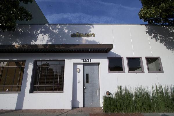 Eleven Sound Front Entrance