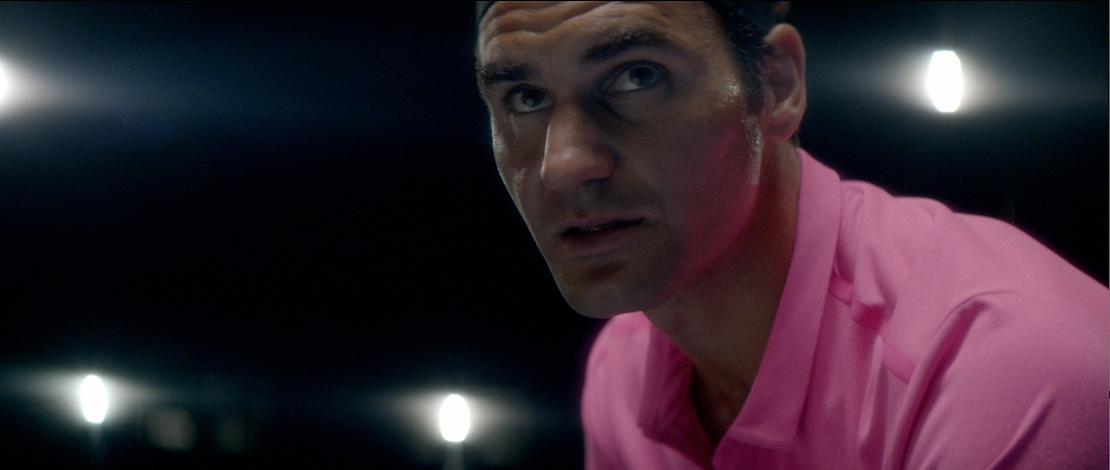 "Roger Federer in Nike's ""The Roger Effect"""