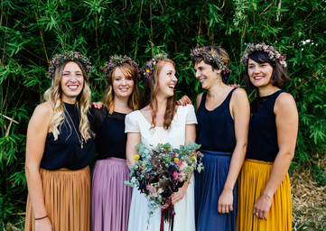 BFF bridemaids