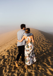 Séance engagement sur la Dune du Pyla