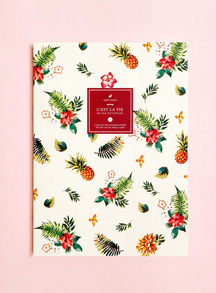 Notebook Tropical Pineapple