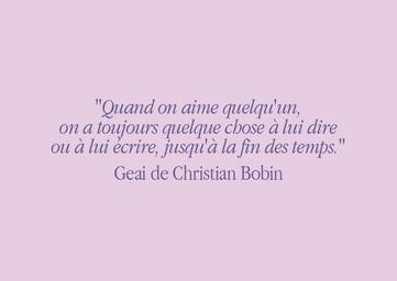 Les mots si justes de Christian Bobin
