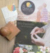 cartes de visite, flyer, prospectus
