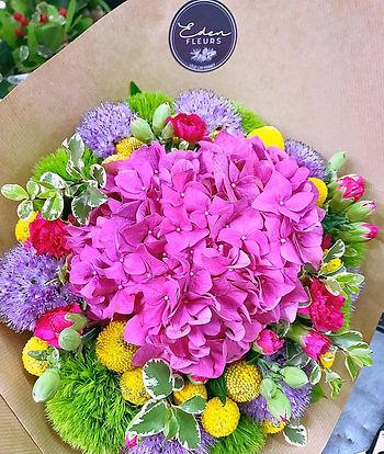 Hortensia stickers Eden Fleurs