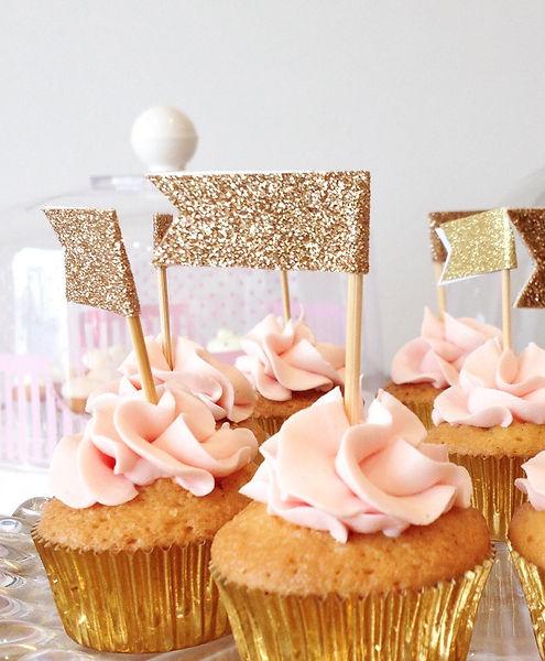 cup cake glitter