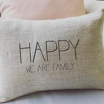 happy family cushion