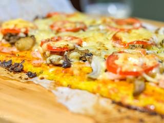 """Cuketovo-syrové """"cesto"""" na pizzu alebo fašírky"""
