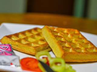 Syrovo-cesnakové wafle