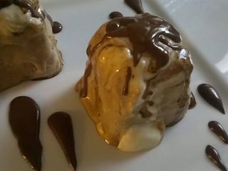 Kávovo-banánová zmrzlina