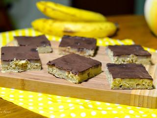 Banánovo-kakaový koláč