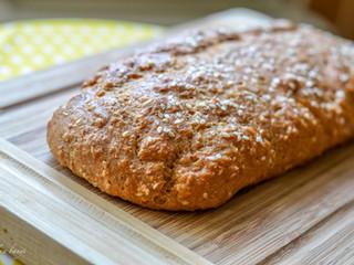 Najjednoduchší a najrýchlejší chlieb/bagetka z 5 ingrediencií