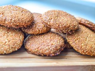 Fantastické keksíky (bez lepku, bez cukru, bez laktózy a bez vajíčok)