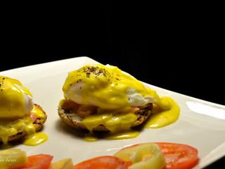 Eggs benedict/Benediktínske vajíčka(s lososom)