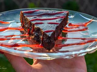 Čokoládová láva tortička