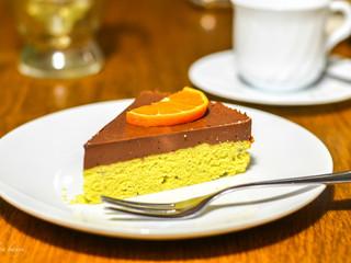 Pomarančovo čokoládová torta