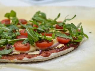 Vegánska bezlepková pizza