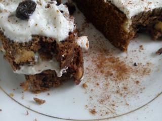 Cícerový koláč s čokoládou
