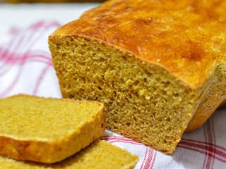 Tekvicový celozrnný chlieb