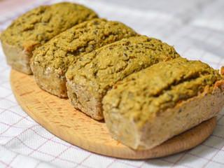 Fitness chlieb/pečivo s vysokým obsahom bielkovín s cuketou