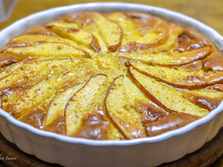 Clafoutis – Hruškovo-mandľový koláč