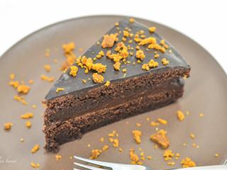 """""""Klasická"""" čokoládová torta"""