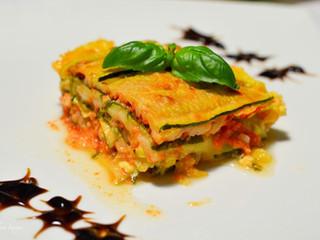 Lightcuketové lasagne
