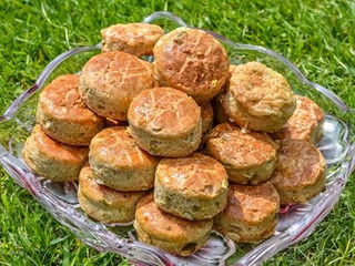 Smotanovo-bryndzové pagáčiky s tekvicovými semiankami