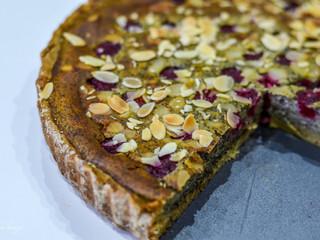 Makovo-malinová DIA tortička
