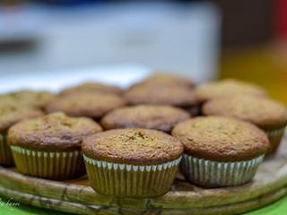Banánové espresso muffiny s bielou čokoládou