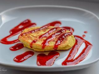 Light sladké raňajkové fašírky