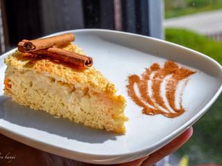 Škoricovo-jabľový koláčik