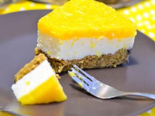 "Paleo pomarančovo-""tvarohová"" torta"
