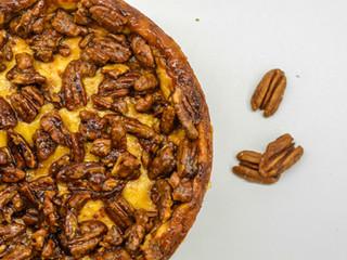 Pekanový cheesecake skaramelom