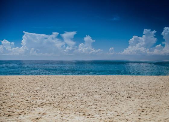 Standing at the Seashore