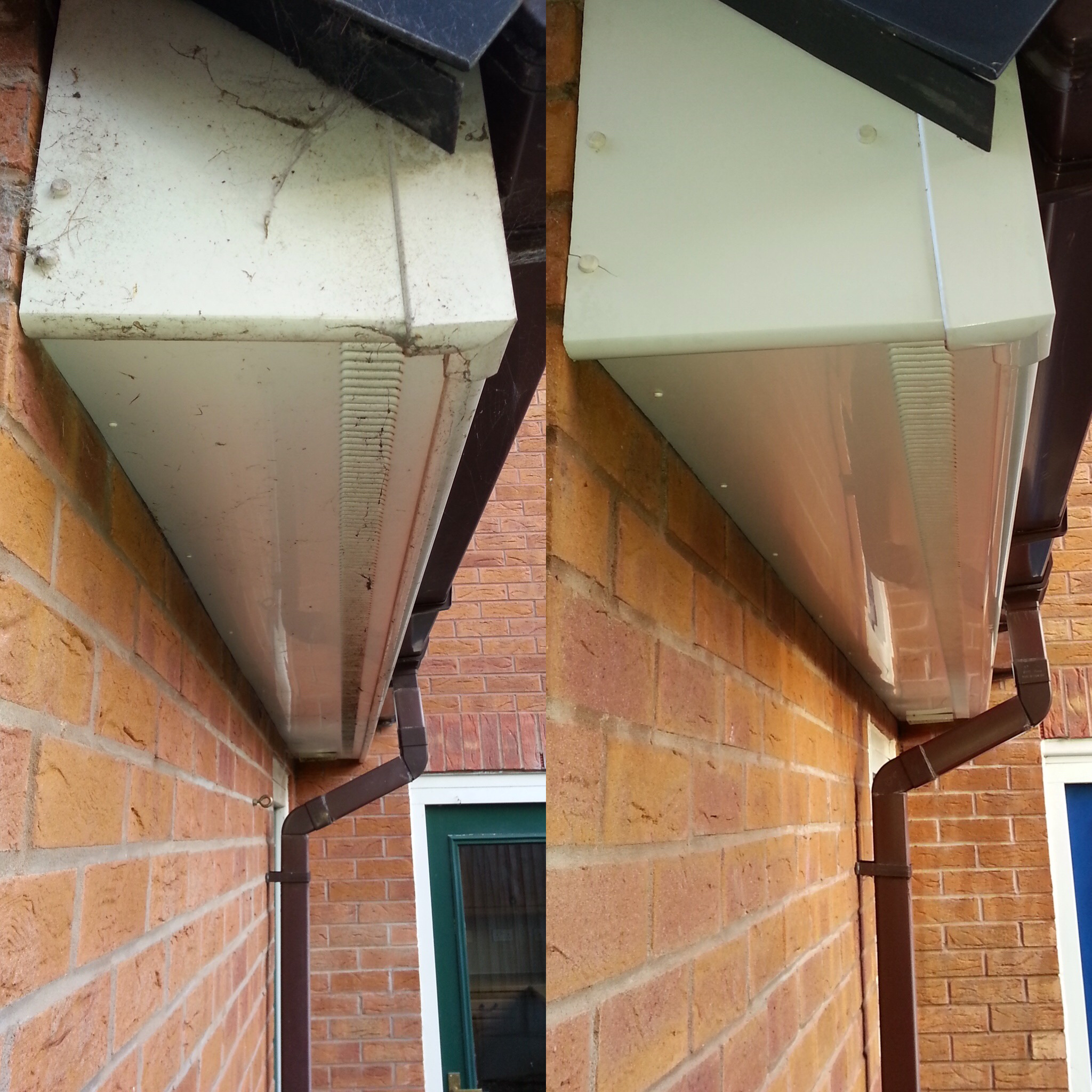 Fascias Clean - Before & After