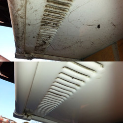Fascia Clean - Before & After