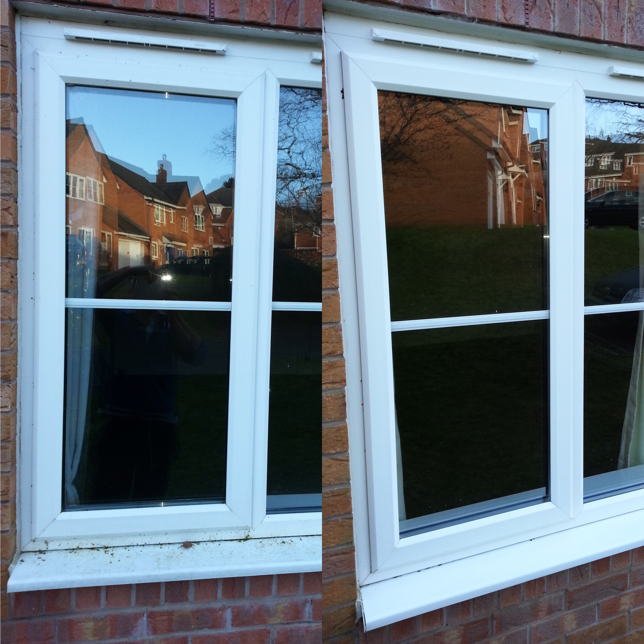 Window Clean - Before & After