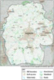 Birdwatching Sites Map
