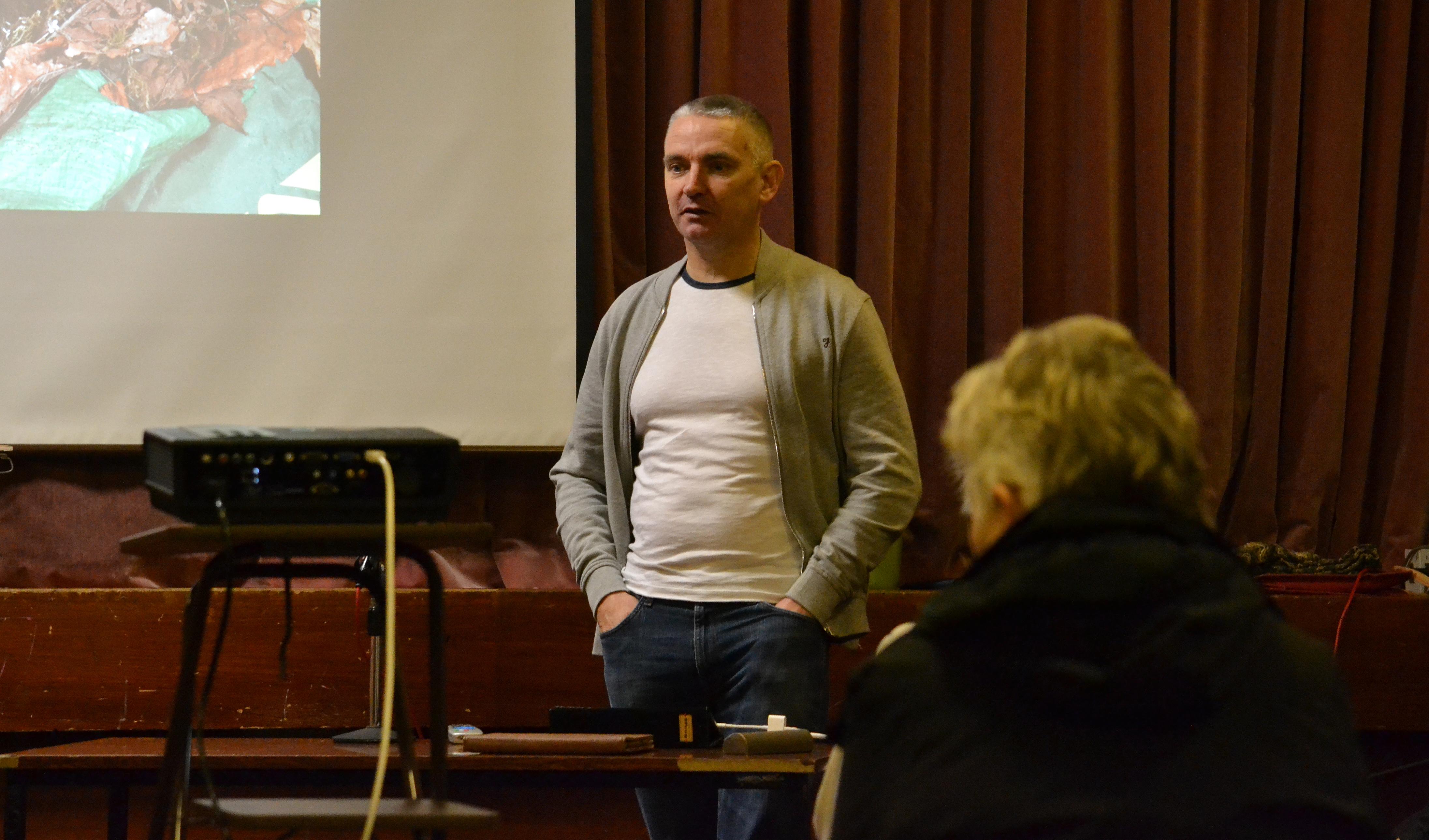 Guest Speaker John Barlow.