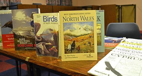 Books available to borrow.
