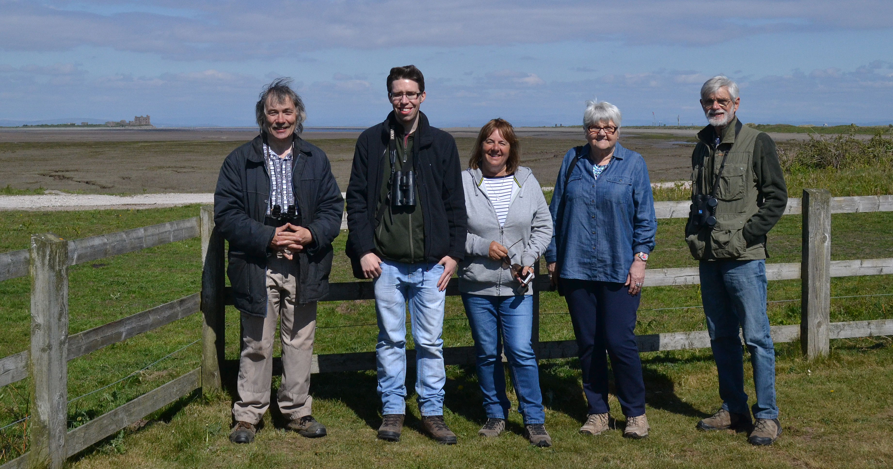 Members on Walney Island