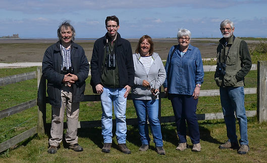 Members on our trip to Walney Island.